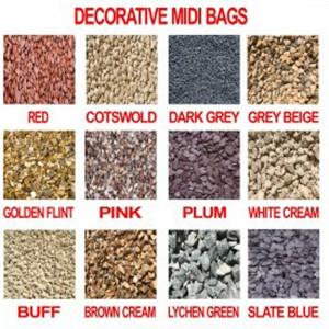 SSG MIDI -Brown Cream Shingle Decorative Aggregate   HCPBSCV