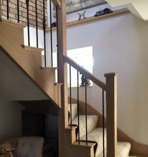 Pear Stairs - Mill Barn Staircase (659)