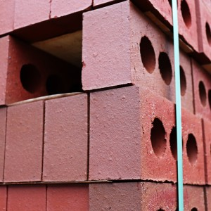 Mixed Red 65mm Class B Engineered Brick [IBS65MIXB]