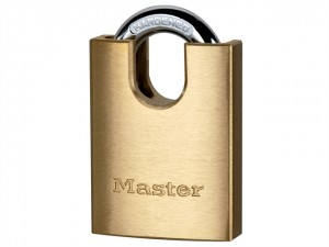 Solid Brass Padlocks Shrouded Shackles