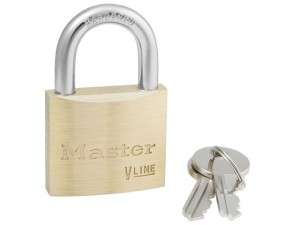 V Line Brass Padlocks