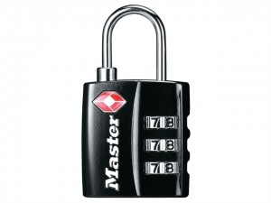TSA 3 Digit Combination Padlocks