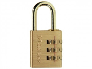 Brass Finish Combination Padlocks