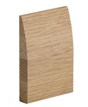 XL JOINERY DOORS -  PFOSKSET-RD  Pre-Finished Oak Skirting Set (Modern Profile) 5x3m per pack  PFOSKSET-RD