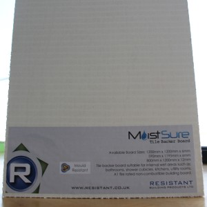 MoistSure Tile Backer 1200x800x12mm