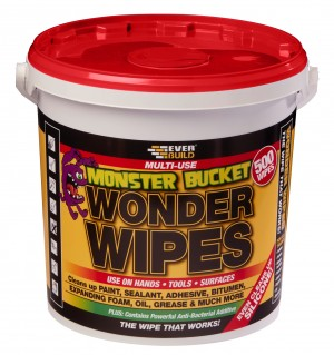 SikaEverbuild Multi-Use Wonder Wipes Monster Tub 500PK [EVMONSTERW]