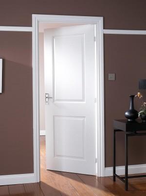 JELDWEN White Moulded 35mm 30 Minute Fire Doors