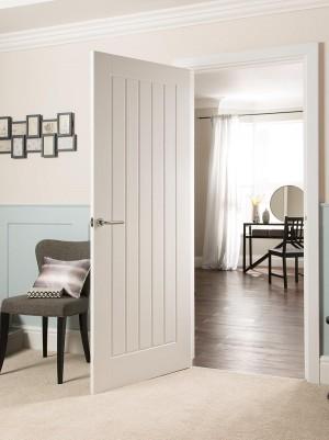 JELDWEN White Moulded Standard Doors