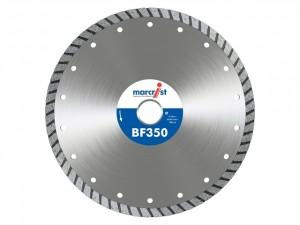 BF350 Turbo Diamond Blades  MRCBF350T115