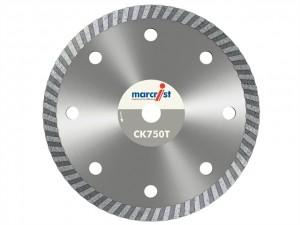 Tile Cutting Turbo Rim Diamond Blades  MRCCK750T115