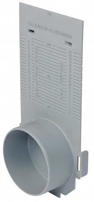 ACO DRAIN - ACO23404 M/Drain M100D Uni End Cap                          ACO23404
