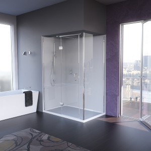 Matki Frameless Shower Enclosures