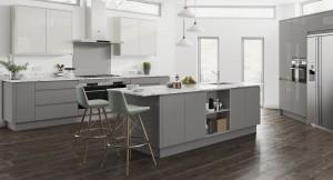 Symphony Milano Contemporary Kitchen - New York Gloss
