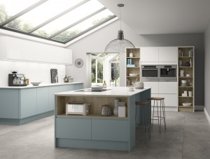 Symphony Milano Contemporary Kitchen - New York Paint To Order