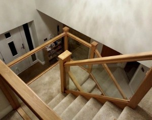 Pear Stairs - Oak Tree Staircase (407)