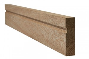 LPD - Internal Door - Oak Architrave Single Groove 2200 x 70 mm  OAKSGARC1870