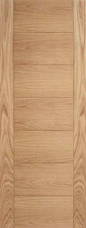 "LPD - Fire Door - Oak Carini 7P Pre Finished 1981 x 686 (27"")  OCARPFFC27"