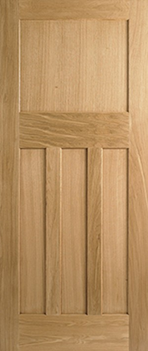 "LPD - Fire Door - Oak DX 30s Style 1981 x 686 (27"")  PPDX27OAKFC"