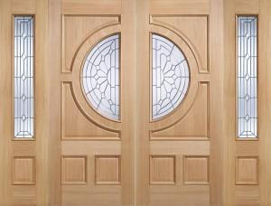 "LPD - External Door - Oak Empress 1981 x 838 (33"")  EMPOAK33"