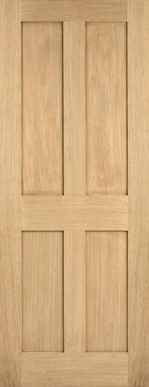 """LPD - Internal Door - Oak London 1981 x 610 (24"""")  OLON24"""