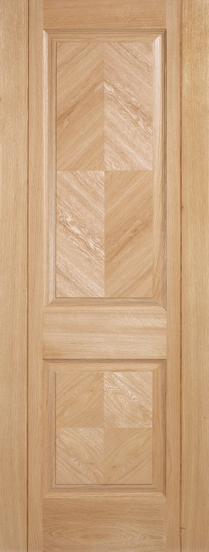 "LPD - Internal Door - Oak Madrid 1981 x 610 (24"")  MADOAK24"
