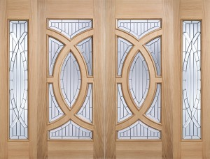 "LPD - External Door - Oak Majestic 1981 x 762 (30"")  MAJOAK30"