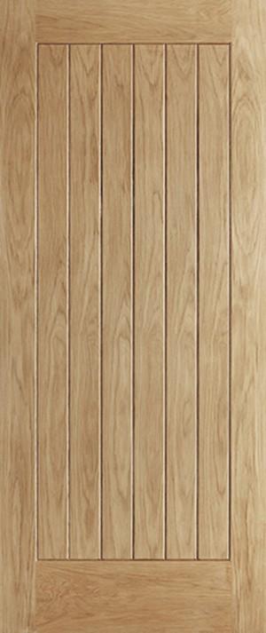 "LPD - External Door - Oak Norfolk 1981 x 762 (30"")  ONORFOLK30"