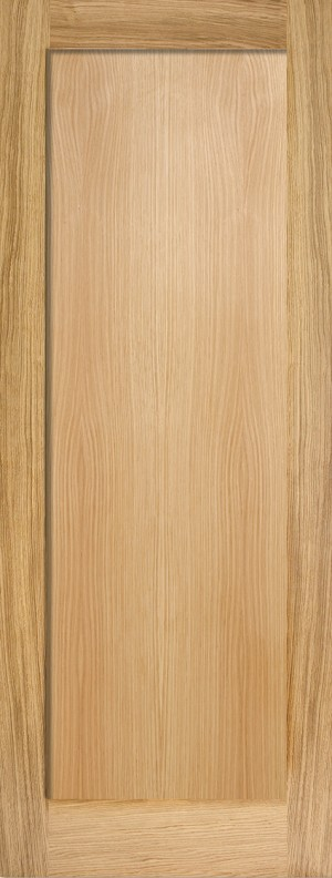 "LPD - Internal Door - Oak Pattern 10 One Panel 1981 x 610 (24"")  OP101P24"
