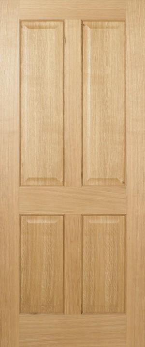 "LPD - Internal Door - Oak Regency 4P Pre-finished 1981 x 610 (24"")  PFOREG4P24"