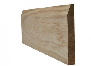 LPD - Internal Door - Oak Skirting Chamfered 3000 x 148 mm  OAKCHSKI18146