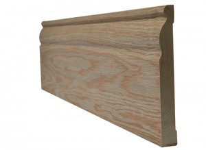 LPD - Internal Door - Oak Skirting Ogee 3000 x 148 mm  OAKOGSKI18146