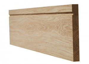 LPD - Internal Door - Oak Skirting Single Groove 3000 x 95 mm  OAKSGSKI1895