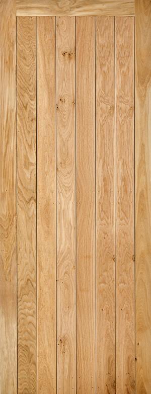 "LPD - Internal Door - Oak Solid Oak Framed & Ledged 1981 x 838 (33"")  NOSF&LRUS33"