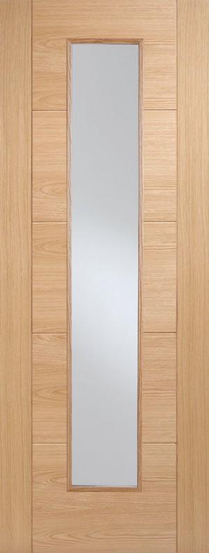 "LPD - Internal Door - Oak Vancouver Long Light 1981 x 686 (27"")  OVANLL27"