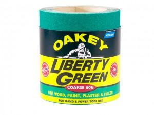 Liberty Green Aluminium Oxide Paper Roll  OAK30395