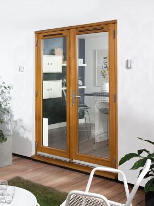 JELDWEN Oak Canberra French Doors