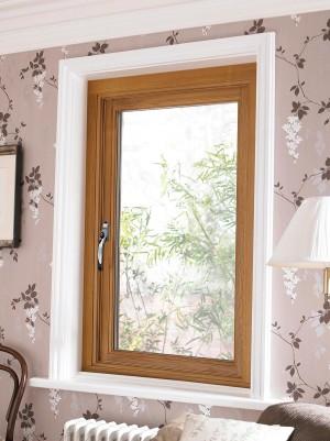 JELDWEN Stormsure Oak Casement Windows