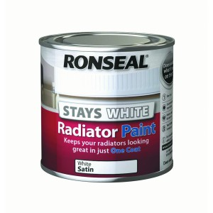 Ronseal One Coat Stay White Radiator Paint