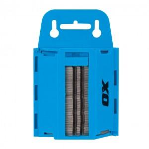 OX TOOLS - OX Pro 100Pk Heavy Duty Knife Blades & Dispenser  HILOXP222110