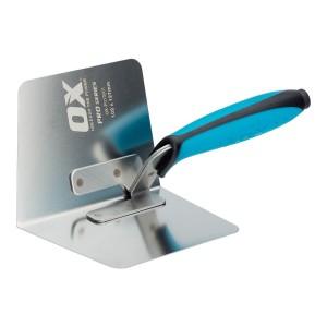 OX TOOLS - OX Pro Dry Wall Internal Corner Trowel 102 x127mm  HILOXP013001