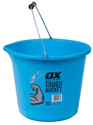 OX TOOLS - OX Pro Tough 15L Bucket  HILOXP112315
