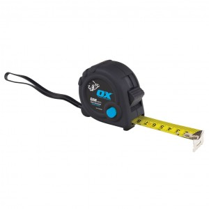 OX TOOLS - OX Trade Tape Measure 8Mtr  HILOXT020608