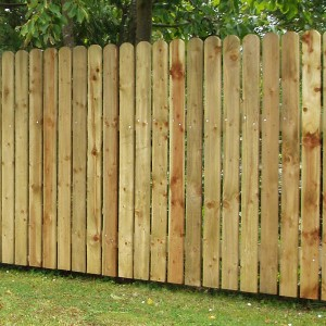 DENBIGH TIMBER - Picket Palisade Fencing