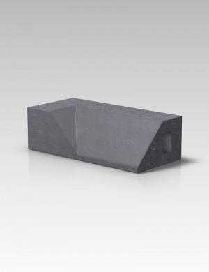 Forterra Cradley PL4.1 Plinth Internal Return LH - Blue