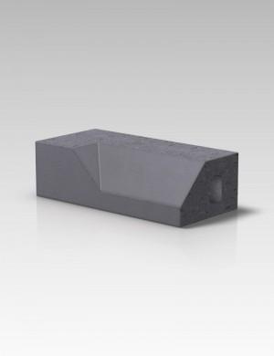 Forterra Cradley PL4.2 Plinth Internal Return LH - Blue