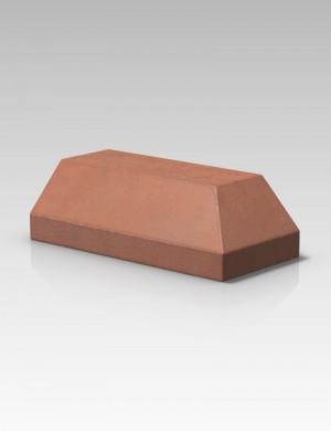 Forterra Cradley PL7.2 Plinth External Return LH - Red