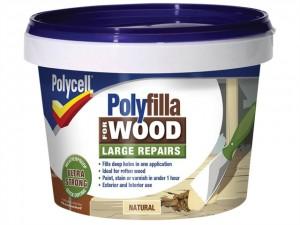 Polyfilla 2 Part Wood Filler  PLC2PWFN500