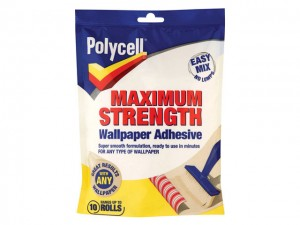 Maximum Strength Wallpaper Paste  GRPPLCMSWPA10R