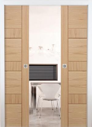 LPD - Internal Door - Pocket Door System Double 1981 x 1676 mm  POCKDD33*