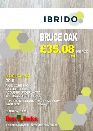 Ibrido CD0154 Bruce Oak 2.34sqm